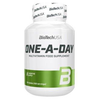 BioTechUSA One-A-Day, 100 tabletek - zdjęcie produktu