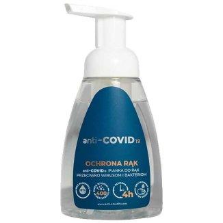 ANTI-COVID19 Ochrona rąk, Pianka do rąk, 250 ml - zdjęcie produktu