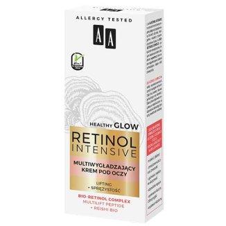 AA Retinol Intensive, multiwygładzający krem pod oczy, lifting + sprężystość, 15 ml - zdjęcie produktu