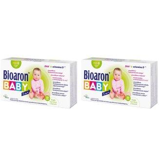 Bioaron Baby 6 m+, dla niemowląt, 2 x 30 kapsułek twist-off  - zdjęcie produktu