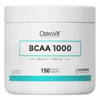 Ostrovit BCAA 1000, BCAA 2-1-1 1000 mg, 150 kapsułek - zdjęcie produktu
