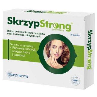 SkrzypStrong, 30 tabletek - zdjęcie produktu