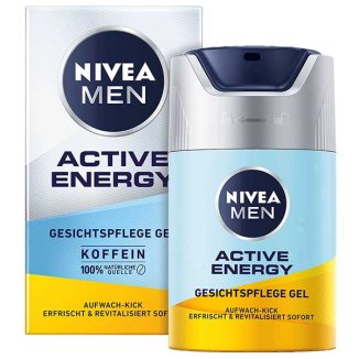 Nivea Men, krem nawilżający, Active Energy, 50 ml - zdjęcie produktu