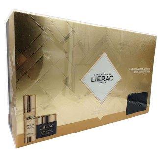 Zestaw Lierac Premium, kuracja, 30 ml + krem odżywczy, 50 ml + etui w prezencie - zdjęcie produktu