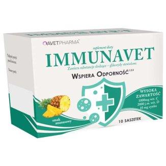 AvetPharma Immunavet, 10 saszetek - zdjęcie produktu