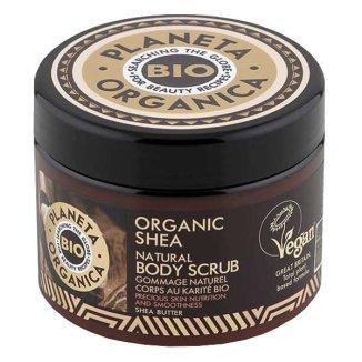 Planeta Organica Organic Shea, scrub do ciała, 300 ml - zdjęcie produktu