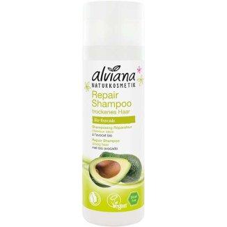 Alviana, ekologiczny szampon regenerujący do włosów, z awokado BIO, 200 ml  - zdjęcie produktu