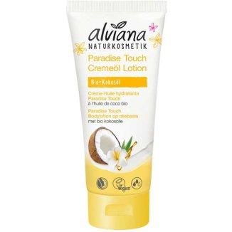 Alviana Paradise Touch, ekologiczny balsam do ciała z olejem kokosowym BIO, 200 ml - zdjęcie produktu