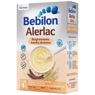Bebilon Alerlac, bezglutenowy produkt zbożowy, po 4 miesiącu, 400 g - zdjęcie produktu