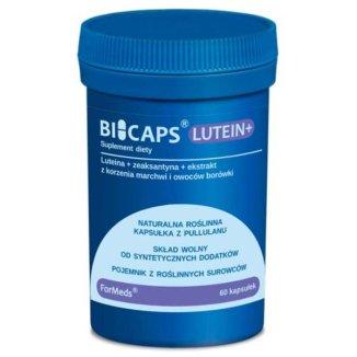 ForMeds Bicaps Lutein+, 60 kapsułek - zdjęcie produktu