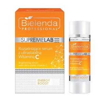 Bielenda Professional SupremeLAB Energy Boost, serum do twarzy rozjaśniające skórę z witaminą C, 15 ml - zdjęcie produktu