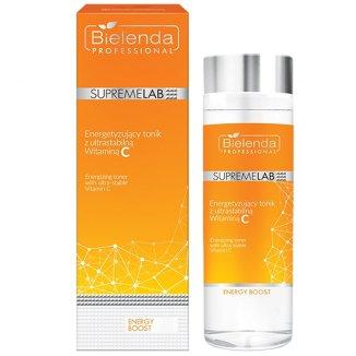 Bielenda Professional SupremeLAB Energy Boost, tonik energetyzujący do twarzy z witaminą C, 200 ml - zdjęcie produktu