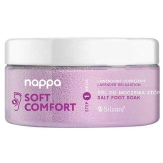 Silcare Nappa, sól do stóp, lawenda, 400 g - zdjęcie produktu