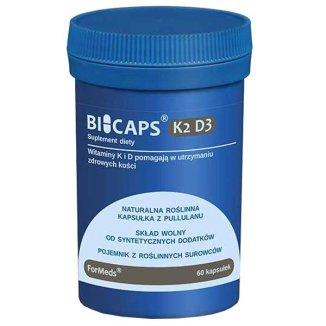 ForMeds Bicaps K2 D3, 60 kapsułek - zdjęcie produktu