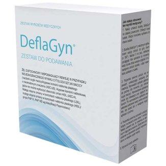 DeflaGyn, żel dopochwowy, 150 ml + 28 jednorazowych aplikatorów - zdjęcie produktu