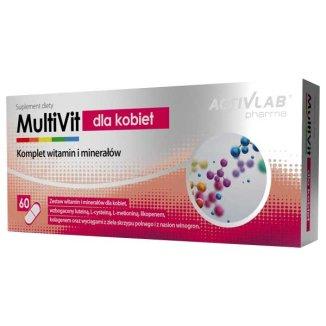 ActivLab Pharma MultiVit dla kobiet, 60 kapsułek - zdjęcie produktu