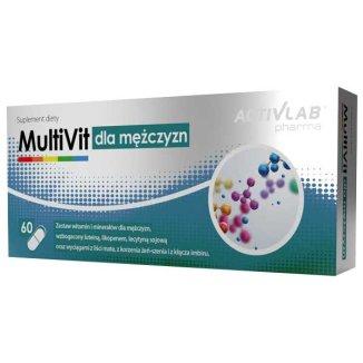 ActivLab Pharma MultiVit dla mężczyzn, 60 kapsułek - zdjęcie produktu