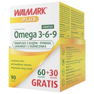 Walmark, Omega 3-6-9, 60 + 30 kapsułek gratis - zdjęcie produktu