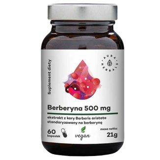 Aura Herbals Berberyna 500 mg, 60 kapsułek - zdjęcie produktu