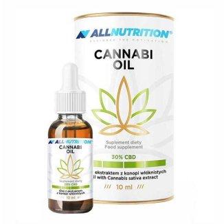 Allnutrition Cannabi Oil 30% CBD, olej z konopi, 10 ml - zdjęcie produktu