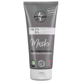 4organic Męski, płyn do higieny intymnej dla mężczyzn, 200 ml - zdjęcie produktu