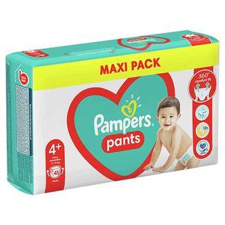 Pampers Pants, pieluchomajtki, rozmiar 4+, 9-15 kg, 45 sztuk - zdjęcie produktu