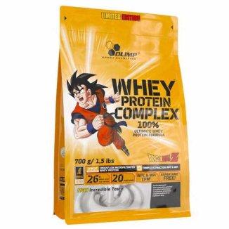Olimp Whey Protein Complex 100%, smak białej czekolady z maliną, 700 g - zdjęcie produktu