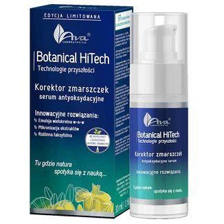 Ava Botanical HiTech, Korektor zmarszczek, serum antyoksydacyjne, 30 ml - zdjęcie produktu