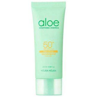 Holika Holika Aloe Soothing Essence, żel przeciwsłoneczny do twarzy i ciała, SPF 50+, 100 ml - zdjęcie produktu