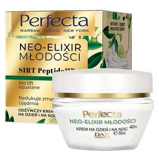 Perfecta Neo-Elixir Młodości 40+, odżywczy krem na dzień i noc, 50 ml - zdjęcie produktu