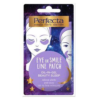 Perfecta Eye or Smile Line Patch, żelowe płatki pod oczy lub na linie mimiczne, 2 sztuki - zdjęcie produktu