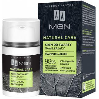 AA Men Natural Care, krem nawilżający, 50 ml - zdjęcie produktu