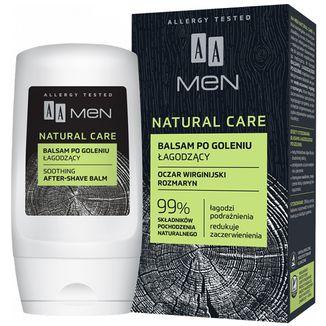 AA Men Natural Care, łagodzący balsam po goleniu, 100 ml - zdjęcie produktu