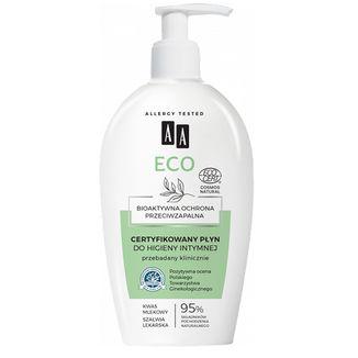 AA ECO, certyfikowany płyn do higieny intymnej, 300 ml - zdjęcie produktu
