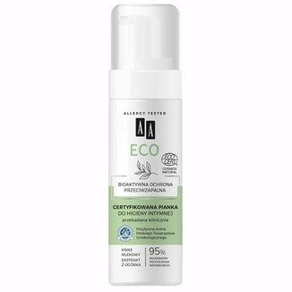 AA Eco, Certyfikowana pianka do higieny intymnej, 150 ml - zdjęcie produktu