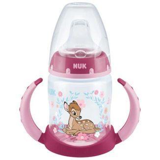 Nuk First Choice, butelka polipropylenowa, z uchwytami, ustnik niekapek, Disney Classics Bambi, 6-18 miesięcy, 150 ml  - zdjęcie produktu
