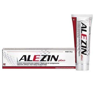 Alezin Plus, maść na odparzenia, odleżyny i otarcia, 50 g - zdjęcie produktu