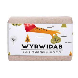 Cztery Szpaki, mydło w kostce dla mężczyzn, Wyrwidąb, 110 g - zdjęcie produktu