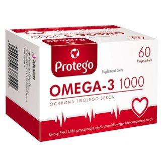 Protego Omega-3 1000, 60 kapsułek - zdjęcie produktu