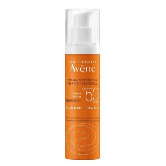Avene Sun, fluid koloryzujący, skóra wrażliwa, normalna i mieszana, SPF50+, 50 ml - zdjęcie produktu