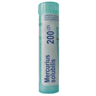 Boiron Mercurius solubilis 200 CH, granulki, 4 g - zdjęcie produktu