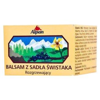 Alpan, rozgrzewający balsam z sadła świstaka, 50 g - zdjęcie produktu