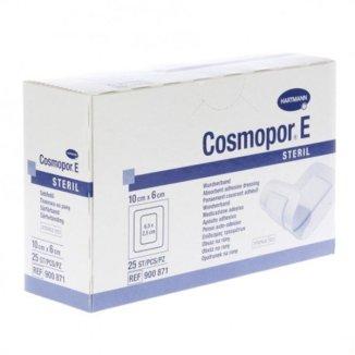Cosmopor E, opatrunek na rany pooperacyjne, jałowy, 10 cm x 6 cm, 25 sztuk - zdjęcie produktu