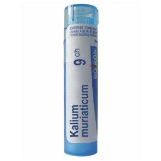 Boiron, Kalium muriaticum 9 CH, granulki, 4 g - zdjęcie produktu