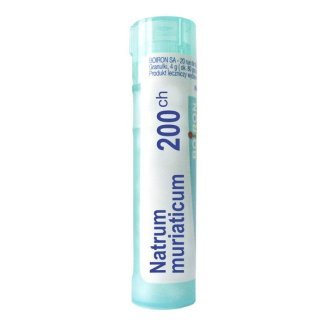 Boiron Natrum muriaticum 200 CH, granulki, 4 g - zdjęcie produktu