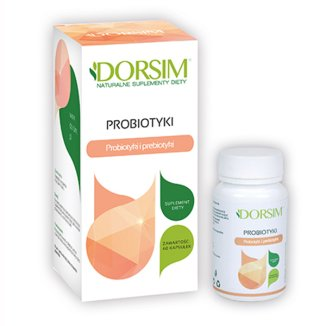 Dorsim Probiotyk, 60 kapsułek - zdjęcie produktu