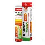 Pharmasis Elektrolity + Kofeina, smak cytrynowy, 24 tabletki musujące  - miniaturka zdjęcia produktu