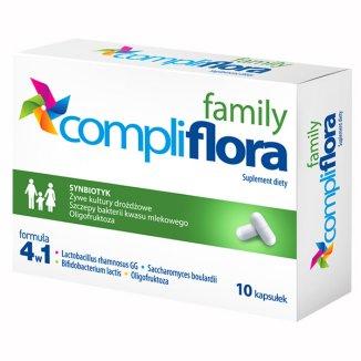 Compliflora Family, 10 kapsułek - zdjęcie produktu