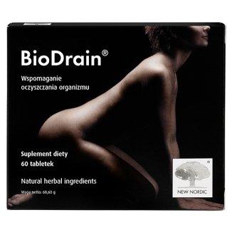 Biodrain, 60 tabletek - zdjęcie produktu