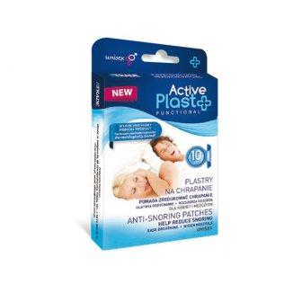 ActivePlast Functional, plastry na chrapanie, 10 sztuk - zdjęcie produktu